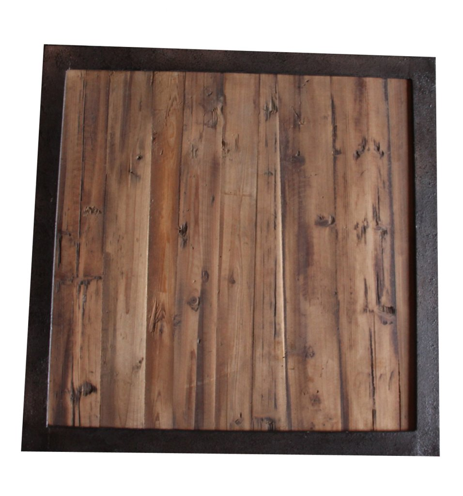 Soffbord Industri brun 60x60x50cm - Industriell stil - Texas ...