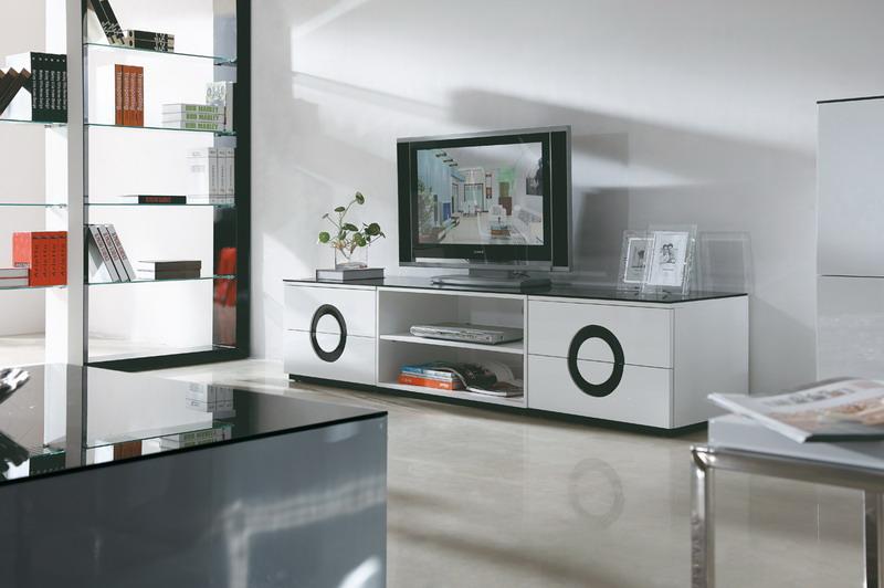hall bänk vit ~ tvbänk vit (svart glastopp) 200x45x40cm  glossy vit