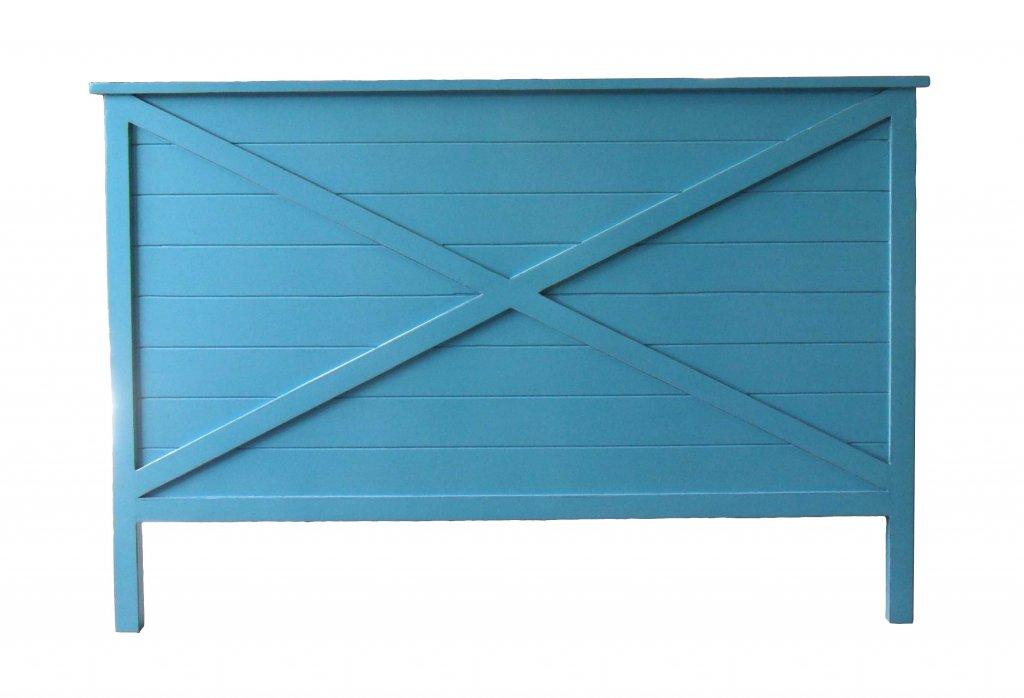 Sänggavel Blå 195x5x120cm Sängskåp Sänggavlar Asiatiska möbler Mobelkungen se