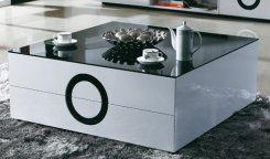 Soffbord Göteborg : Högglansiga möbler i vitt och svart glossy vit amp möbelkungen