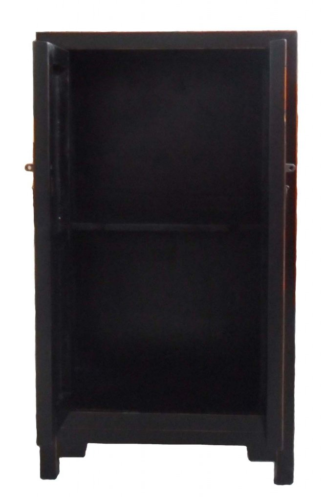 svart skåp bil ~ skåp svart 58x36x102cm  asiatiska möbler  mobelkungense