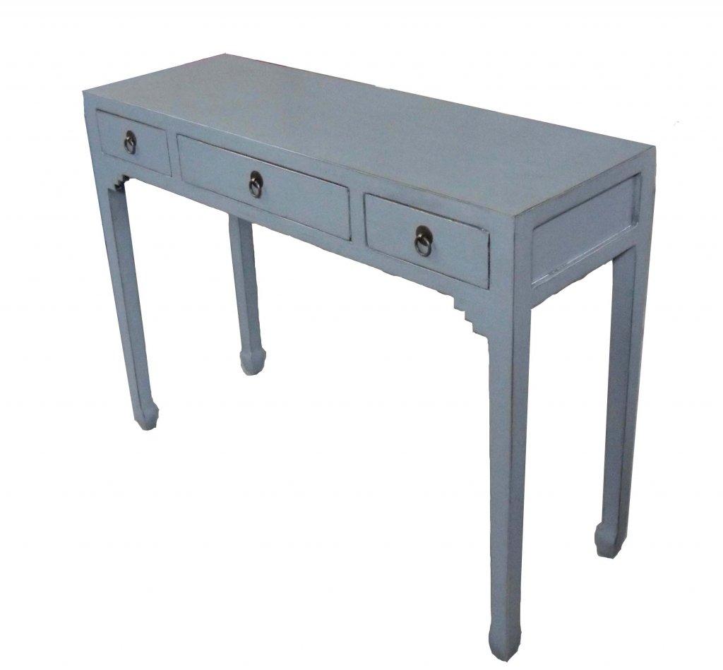 Skrivbord Grå Bredd 99,5 X Djup 35 Xhöjd 76cm Asiatiska Möbler Mobelkungen Se