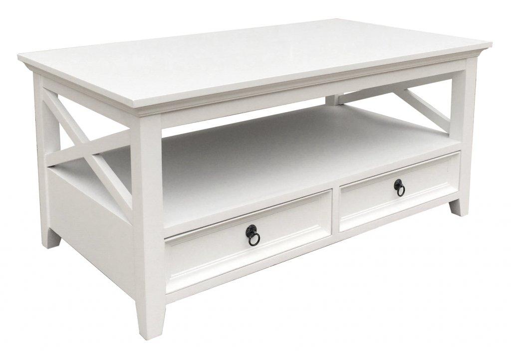 Soffbord Vit 110x60x50cm Alezzi Vit Mobelkungen.se