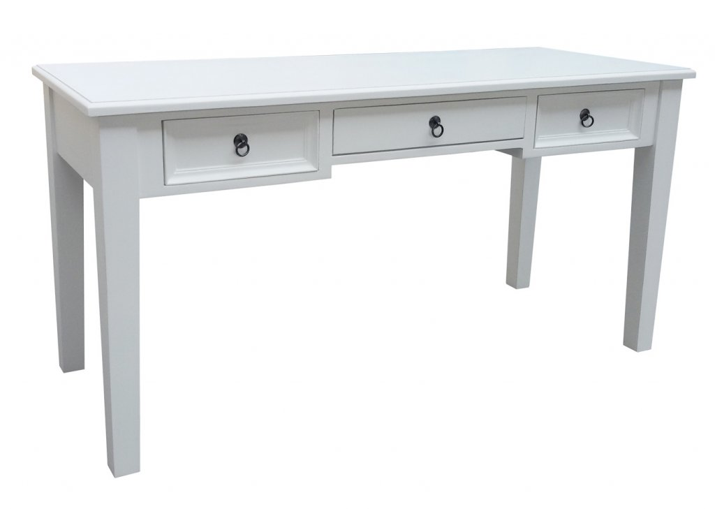 Attraktiva Skrivbord Vit 150x60x76cm - Alezzi Vit - Mobelkungen.se AD-17