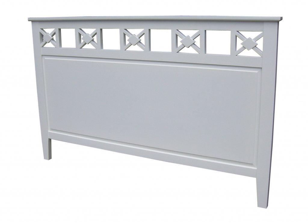 sänggavel vit ~ sänggavel kryss vit 195x120cm  sänggavlar, sängskåp